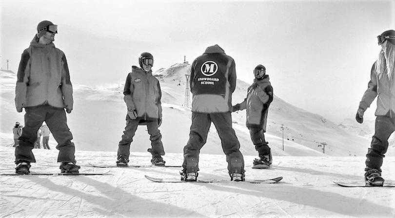 Lezioni snowboard livigno