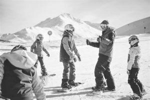 corsi di snowboard o lezioni